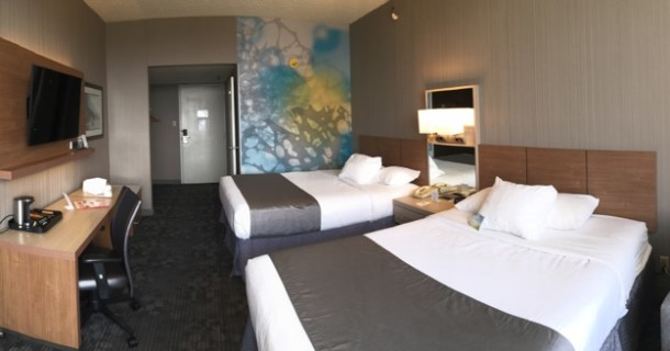 Hotel Rooms at Days Inn renovated in 2016