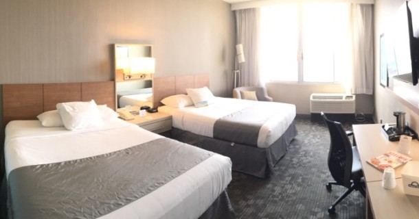 Double bed Hotel rooms renovated in 2016