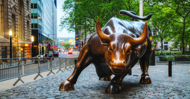 Famous Bull at Wall Street