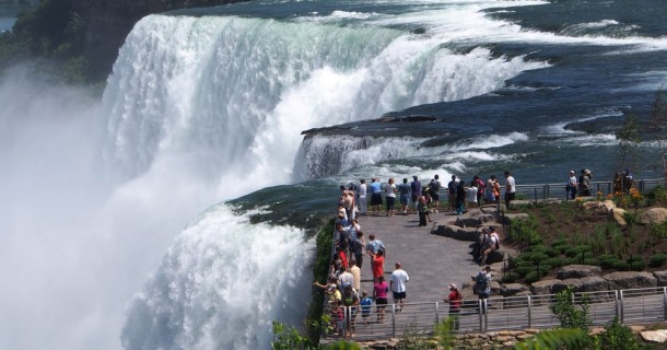 Wonderful views of Niagara