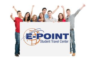 students with epoint logo